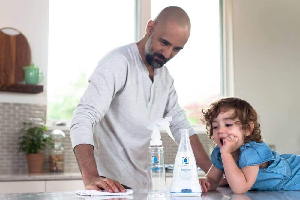 electrolyzed water vs bleach