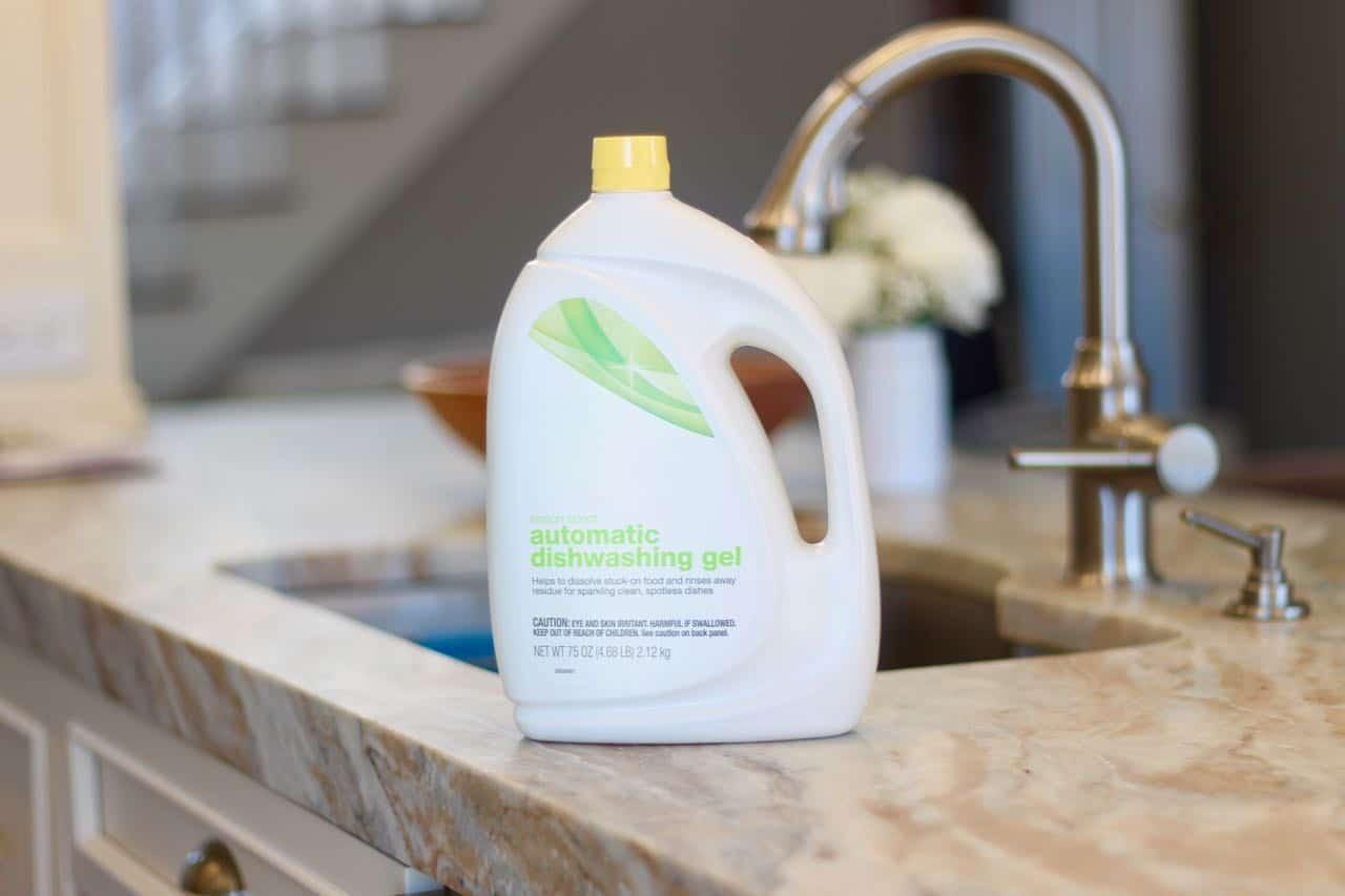 chemical free dishwasher detergent