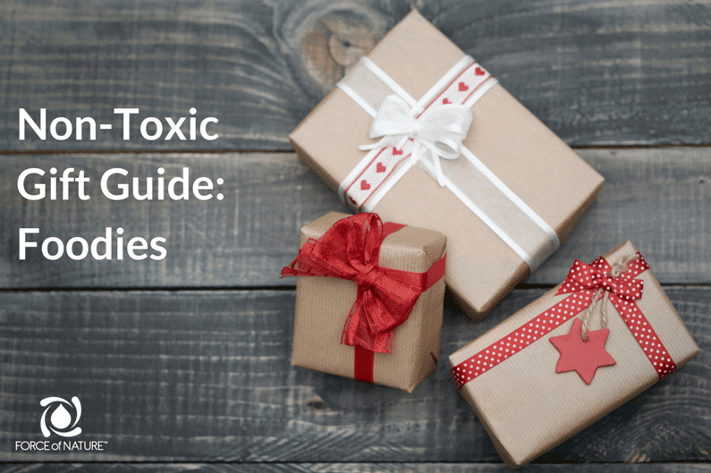 non-toxic holiday gift guide for foodies
