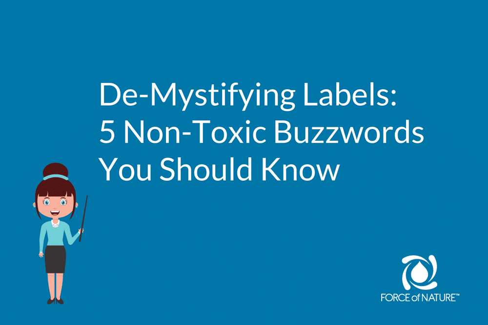 5 non toxic buzzwords you should know force of nature for Haute you should know