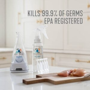 non toxic disinfectant that kill 99.9% of germs