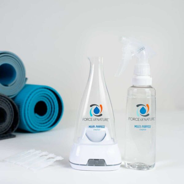 Force of Nature cleans yoga gear