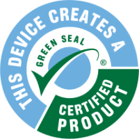 green seal certified product logo