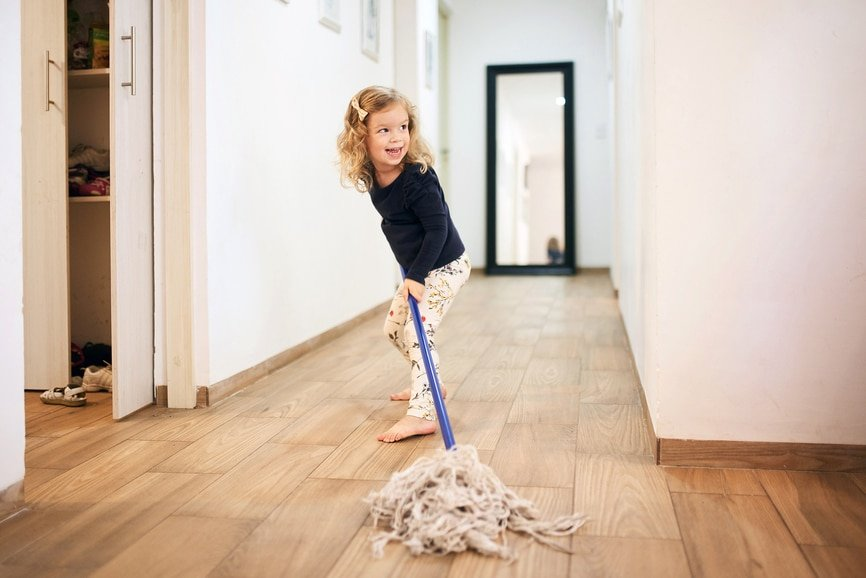 chores with kids
