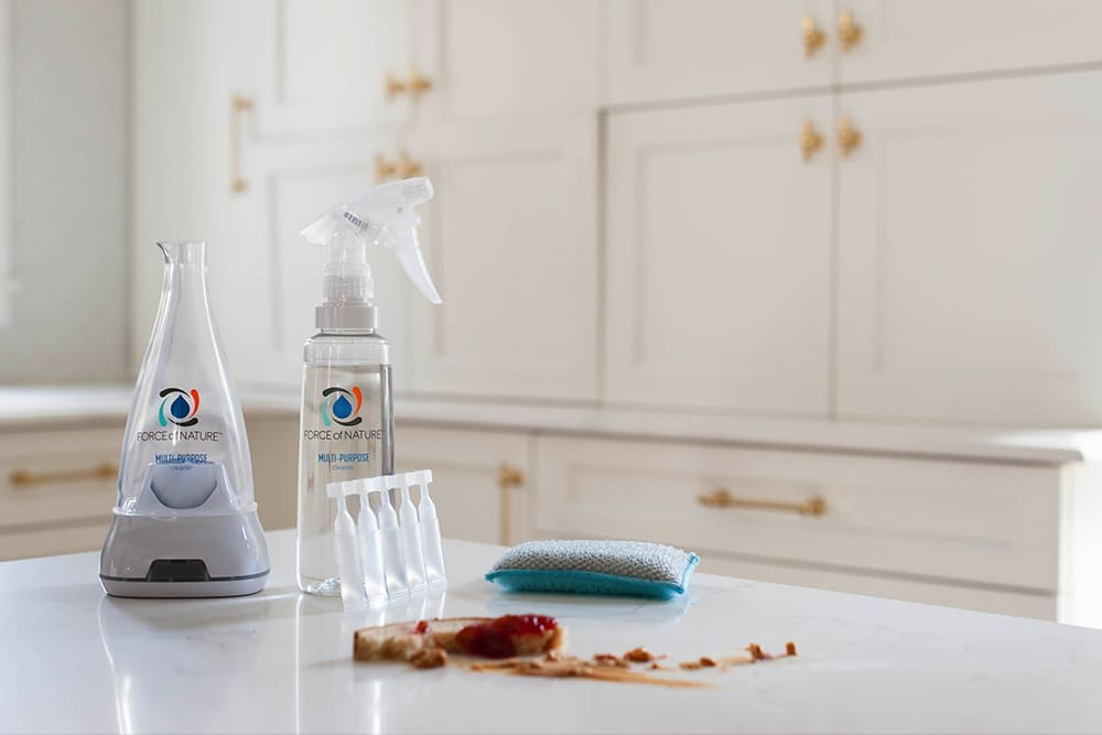 Disinfecting Kitchen Counters