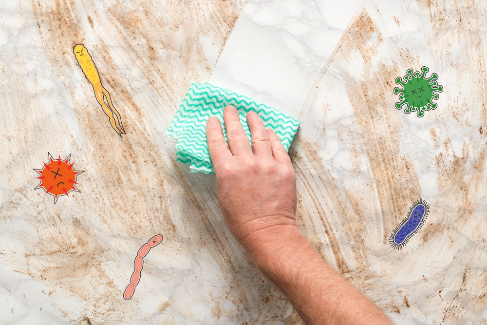 How to effectively disinfect your home