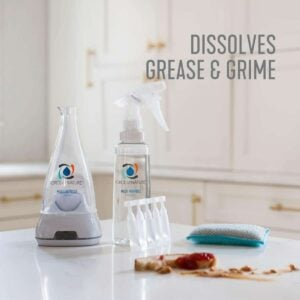 Non toxic cleaner for grease & grime