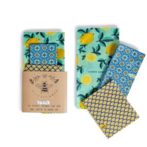 Beeswax wraps are a Plastic wrap replacement