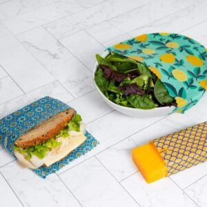 replace plastic wrap with beeswax wrap